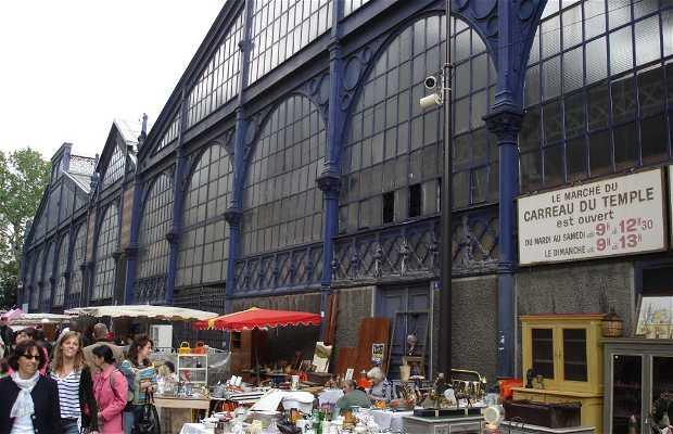 Carreau du Temple, il mercatino di Le Marais a Parigi