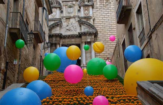 Fiesta de flores - festa dei fiori