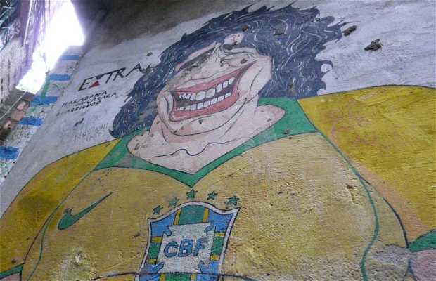 Ruas da Favela da Rocinha