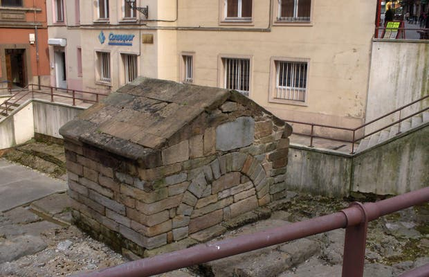 La fontaine de Foncalada