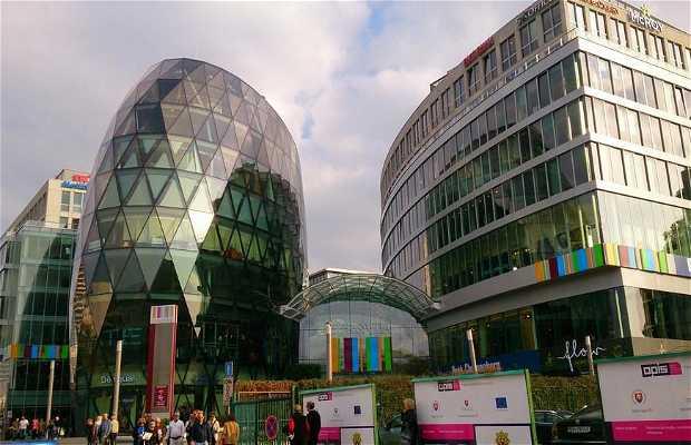 Le centre commercial Europa
