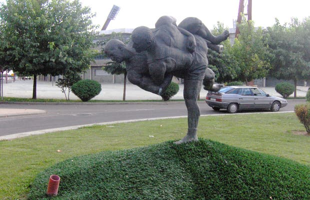 Escultura de Los Aluches
