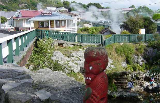 Whakarewarewa, pueblo termal