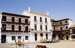 Plaza Mayor De Tarazona De La Mancha