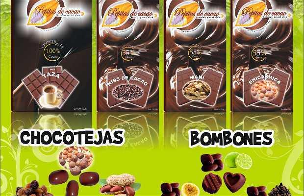 Chocolatería Pepitas de Cacao