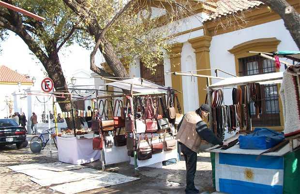 Feria de Artesanos de Recoleta