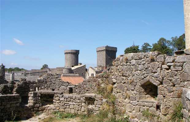Le mura di La Couvertoirade