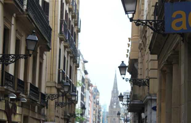 Les ruelles de San Sebastian