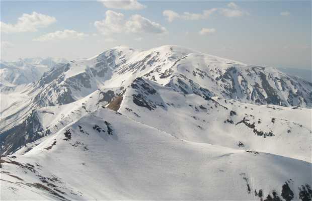 Vista desde lo alto de Kasprowy Wierch