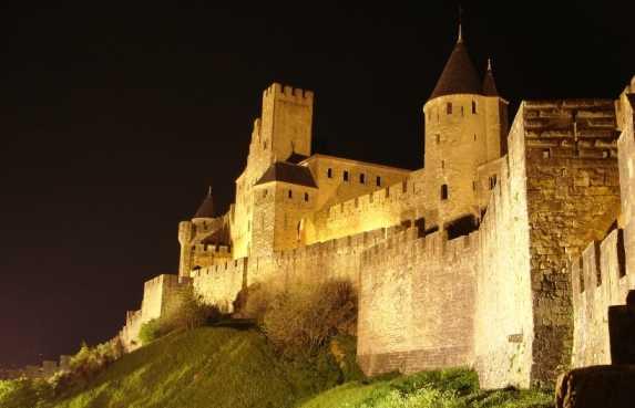 Le mura di Carcassonne
