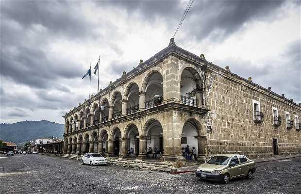 Palacio Municipal de Antigua (Palacio del Ayuntamiento)