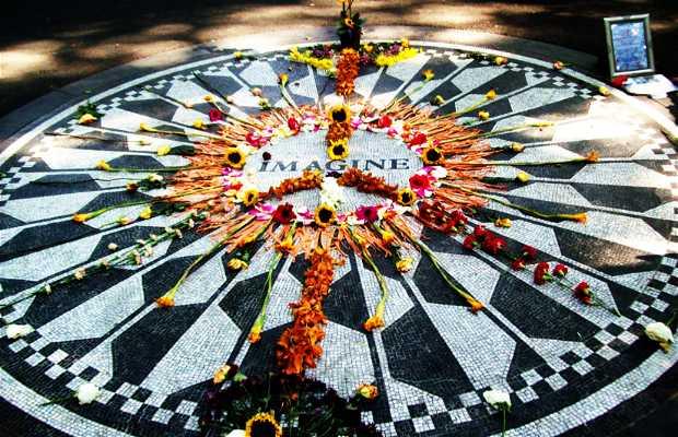 Strawberry Fields, monument to John Lennon
