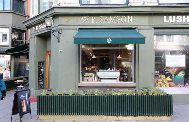 W.B.Samson – Egertorget café pastelería