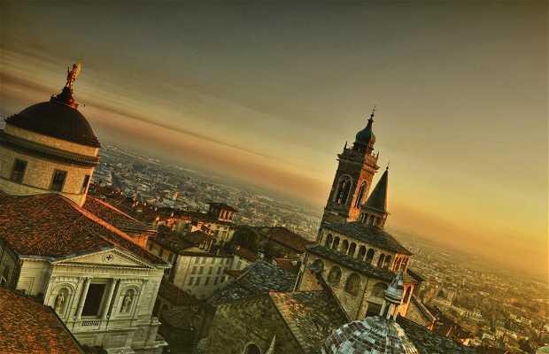 Ciudad alta de Bergamo