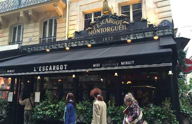 L'Escargot Montorgueil