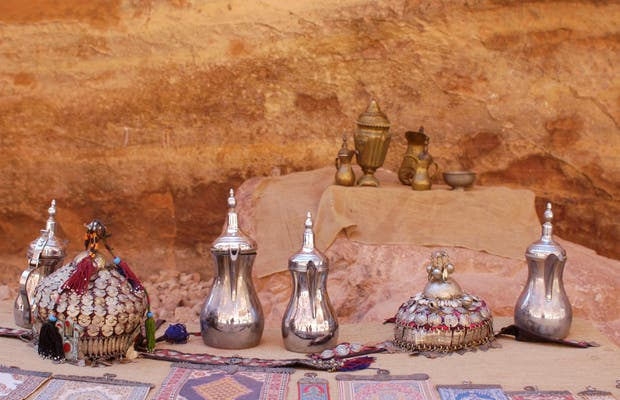 Flea market in Petra