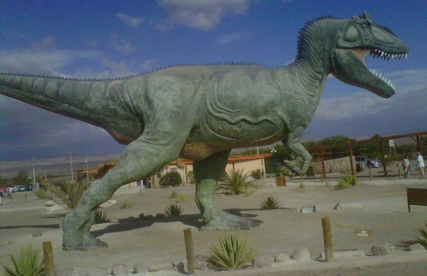 Parque Huellas de los Dinosaurios - Pica