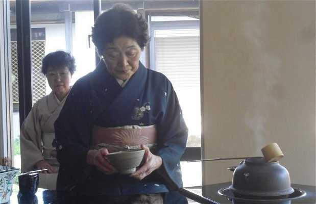 Ceremonia del té en el Japón