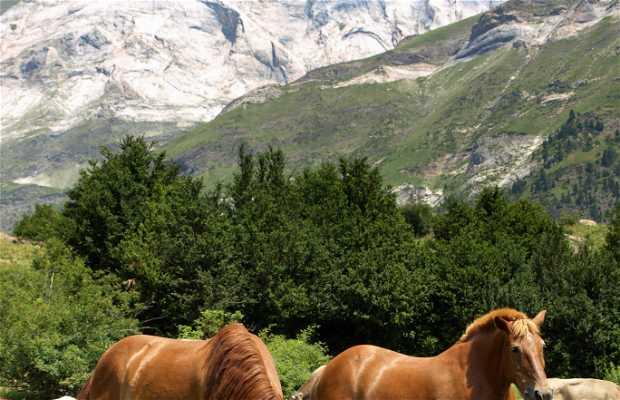 Circuit de La Larri (3ª étape jusqu'à la Cascade de La Larri)