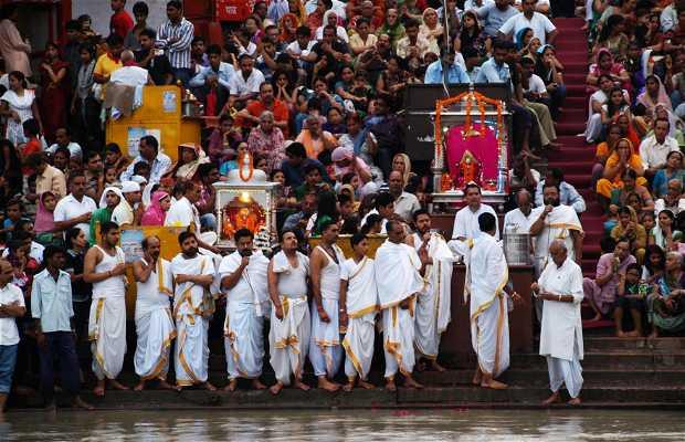 Ceremonias en el Har Ki Pairi