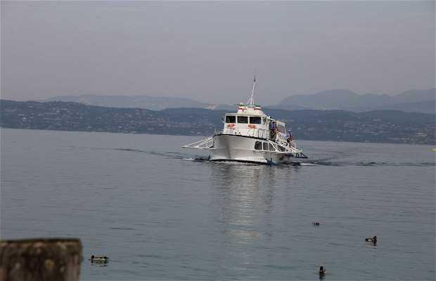 Jetfoil por el lago di Garda