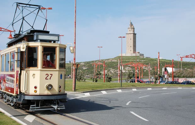 Trams in La Coruna