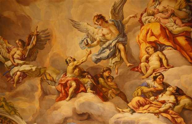 The Frescoes of St. Charles Borromeo Church