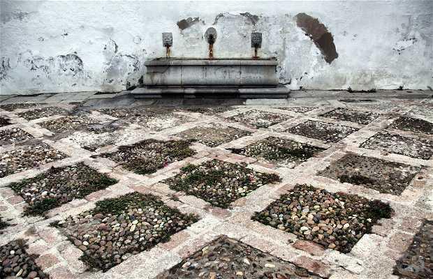 La Fontaine de la Place Jerónimo Paez
