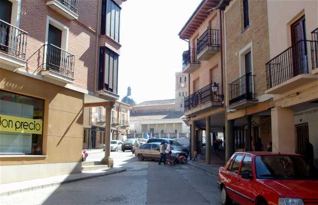 Streets of Villalón de Campos