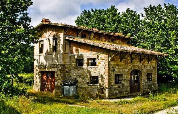 Vieja estación de Legutiano