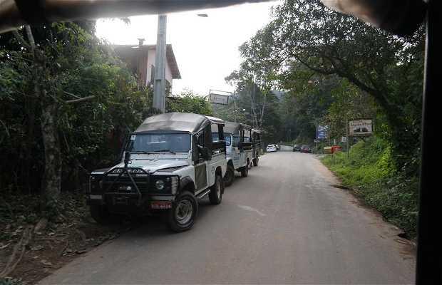 Passeo de Jeep em Paraty