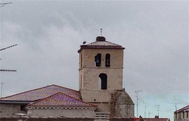 Plaza de la iglesia, laguna de duero