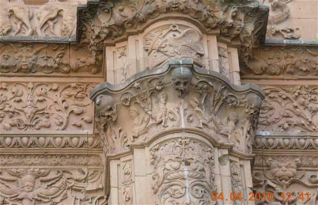 Fachada da Universidade de Salamanca