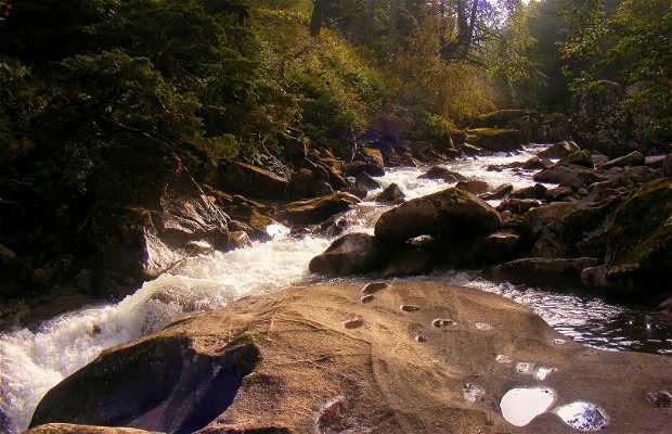 Sentiero de las cascadas