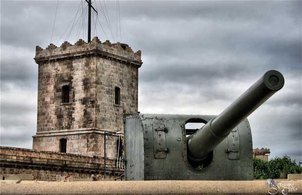 Castello di Montjuïc a Barcellona