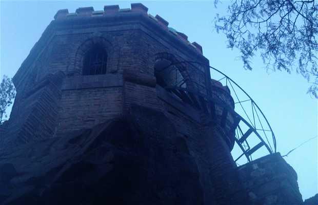 La tour Mirador du parc Santa Lucia