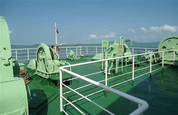 Le ferry pour aller à Koh Pha Ngan
