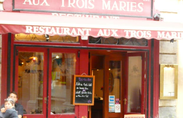 Restaurante Aux trois Maries