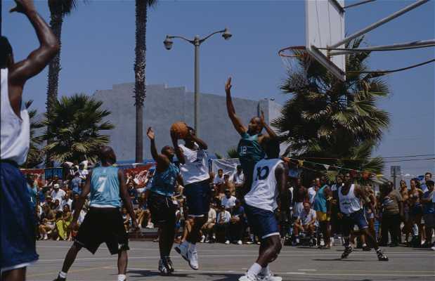 Venice Beach Basketball Courts