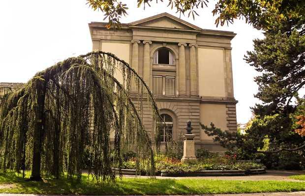 Parque de los Bastiones en Ginebra