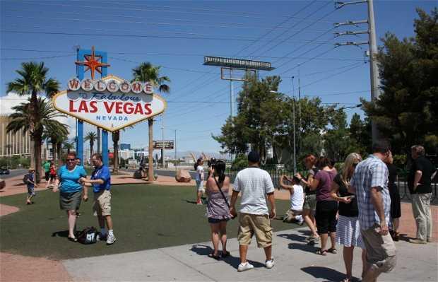Letrero Las Vegas