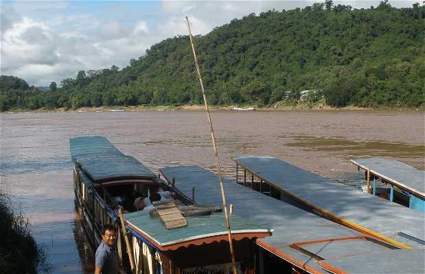 Barcos de Luang Prabang