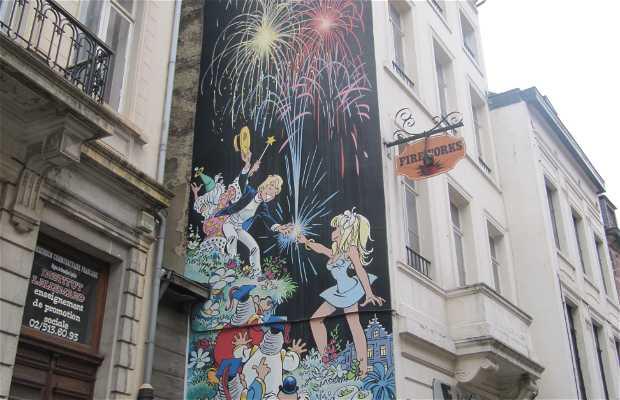 Mural Olivier Rameau - Dany