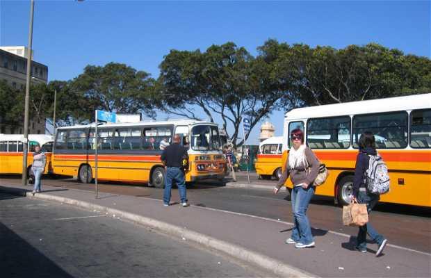 Estacion autobuses de Valletta