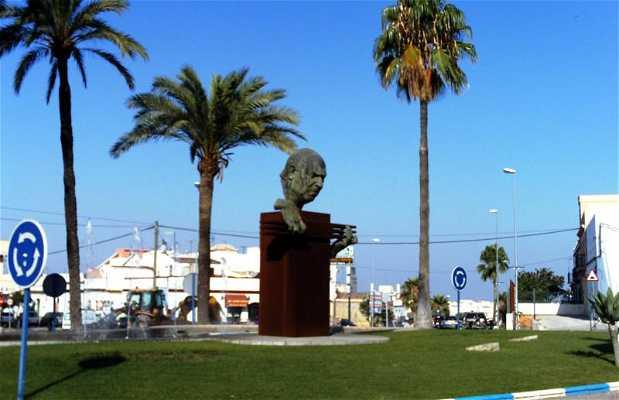 Estatua de Pedro Bacán