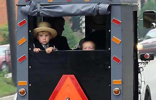 Ferme et maison de Amish