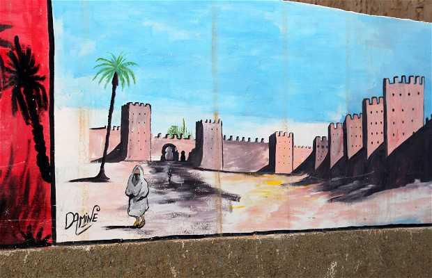 Mural de Kasbah