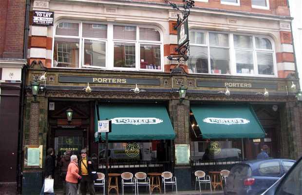 Porters English Restaurant