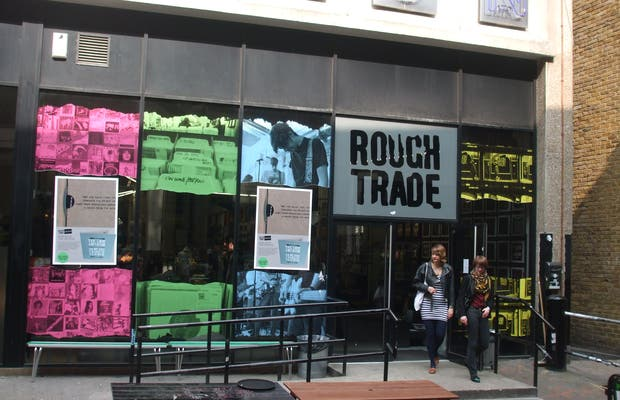 Magasin de disques Rough Trade East