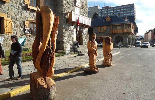 Esculturas del centro civico